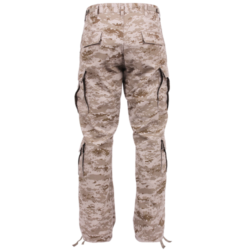 Vintage Camo Paratrooper Fatigue Pants