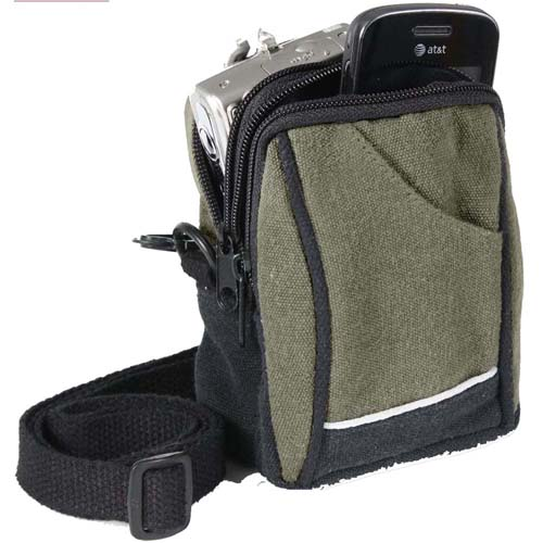 Canvas Camera Pouch