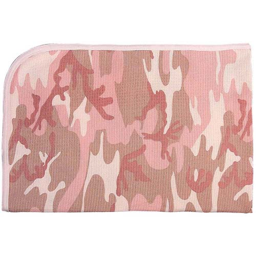 Infant Camo Receiving Blanket