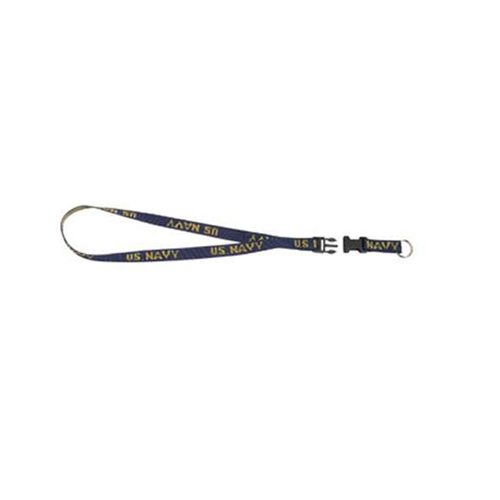Military Navy Neck Strap Key Ring