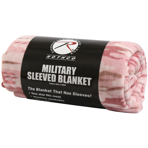 Military Sleeved Blanket