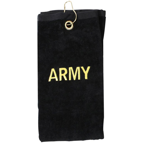 Military Army Embroidered Golf Towel