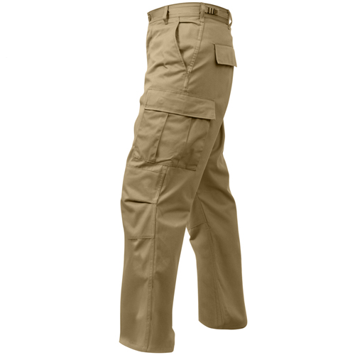 Relaxed Fit Zipper Fly BDU Pants