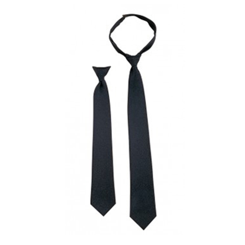 Police Issue 18 Inches Clip-On Neckties