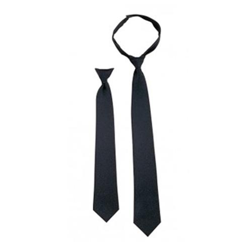 Police Issue 18 Inches Hook N Loop Neckties