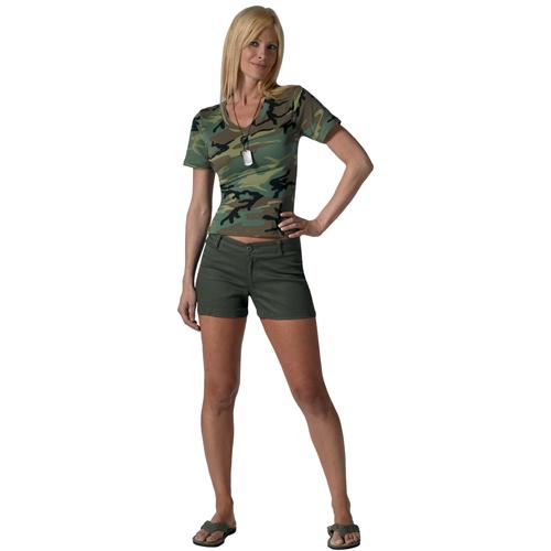 Womens Cotton Shorts