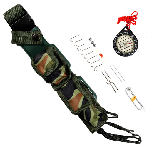 Special Forces Survival Fixed Blade Knife Kit