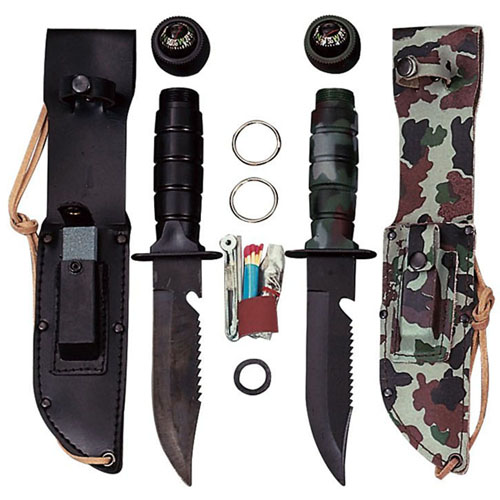 Ultra Force Survival Fixed Blade Knife Kit
