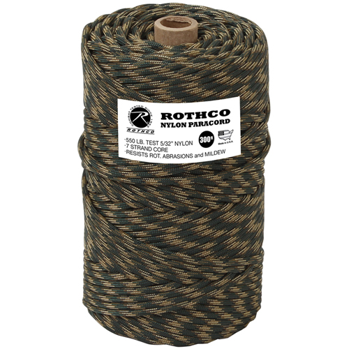 Nylon Paracord 550 Lb 300 Feet Tube