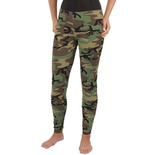 Womens Camo Leggings