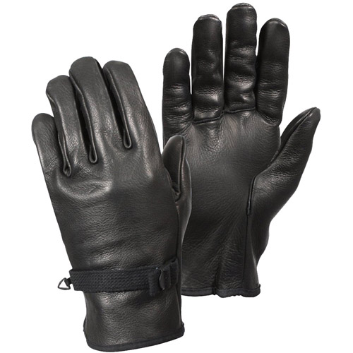 D-3A Leather Military Gloves