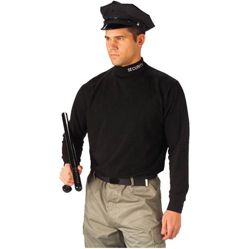 Security Mock Turtleneck Tshirt