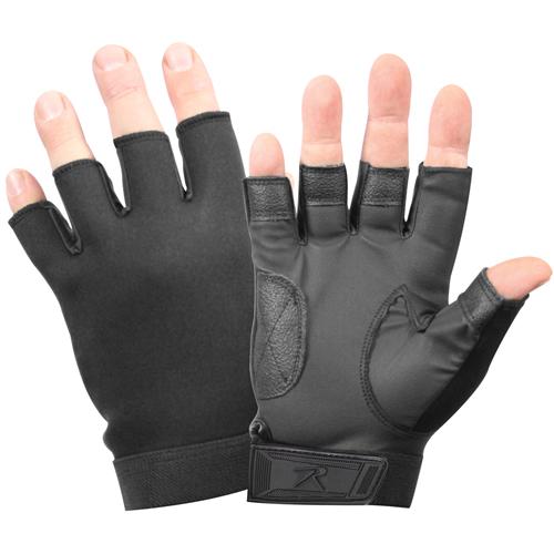 Fingerless Stretch Fabric Duty Gloves