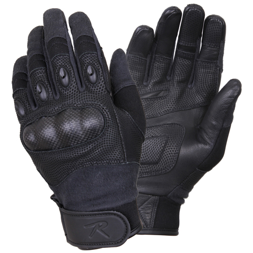 Carbon Fiber Hard Knuckle Tactical Gloves