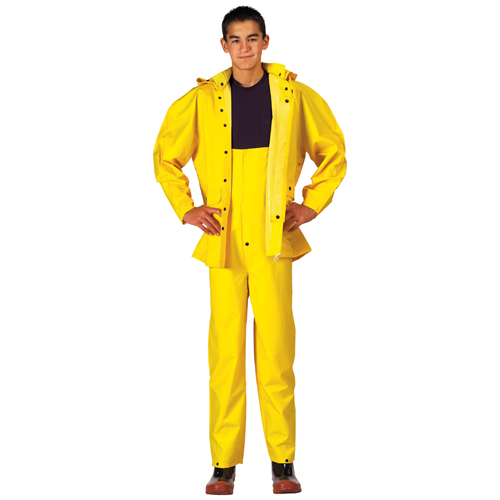 Mens Deluxe Heavyweight PVC Rainsuit