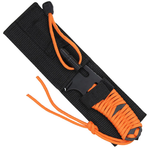 Paracord Knife w/ Fire Starter - Large