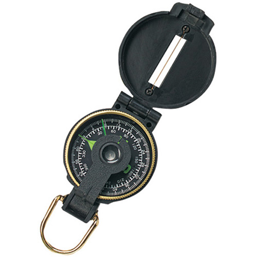 Lensatic Plastic Compass