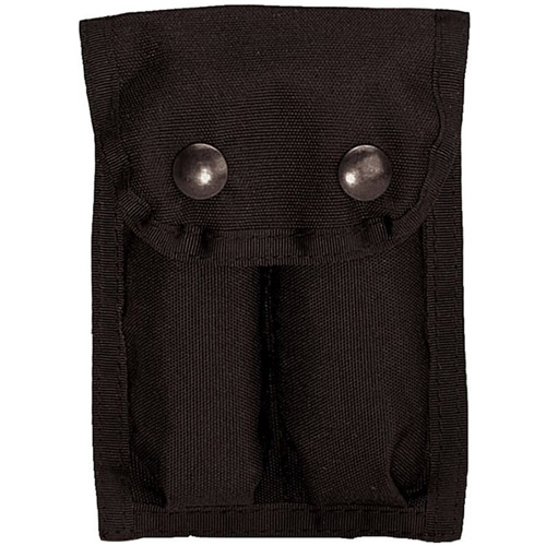 GI Type Enhanced Dual 9Mm Black Clip Pouch
