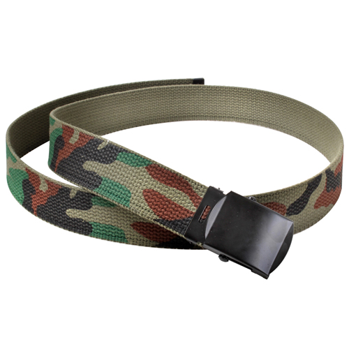 Camo Reversible 54 Inch Web Belt