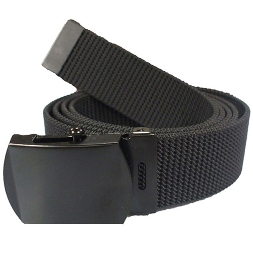 Black Nylon 44 Inches Web Belt