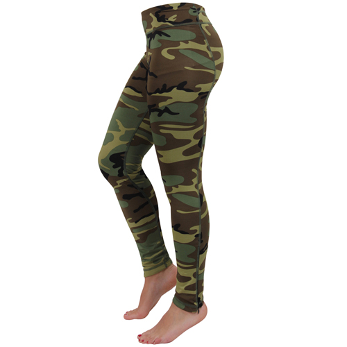 Ultra Force Womens Camo Performance Leggings