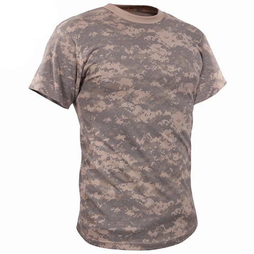 Great vintage camouflage t-shirt for work or outdoors.  Get yours now.