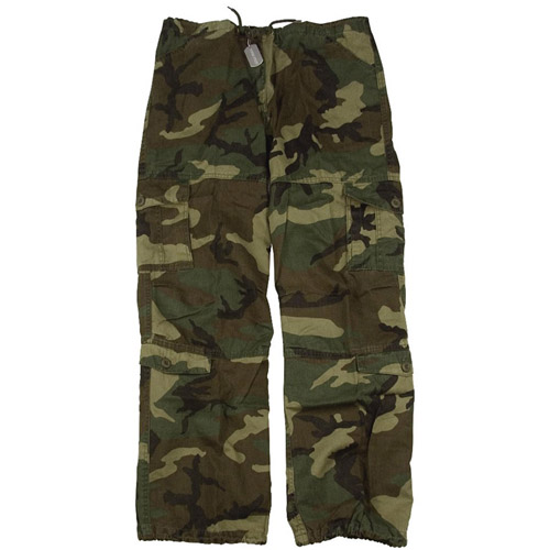 Girls Vintage Camo Paratrooper Fatigue Pants