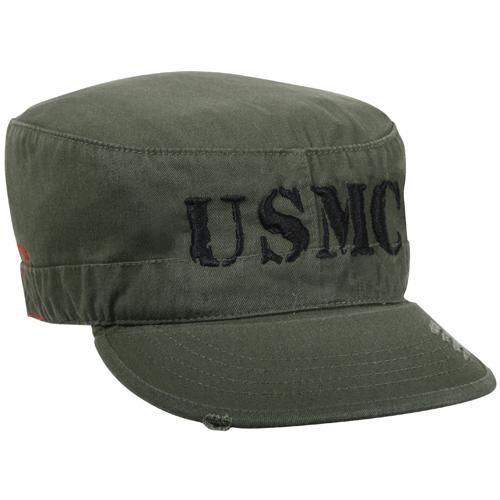USMC Vintage Military Fatigue Hat