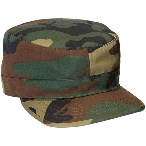 Adjustable Camo Fatigue Cap