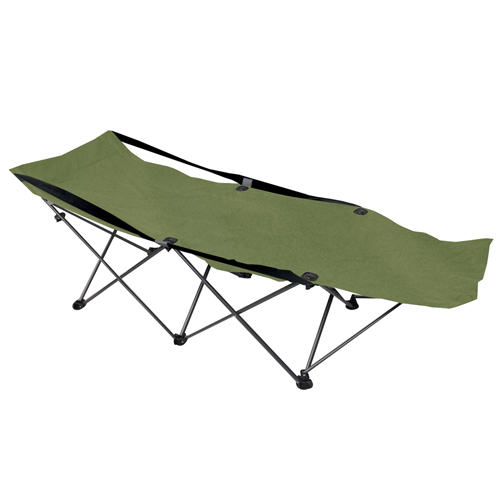 Deluxe Folding Gree Camping Cot