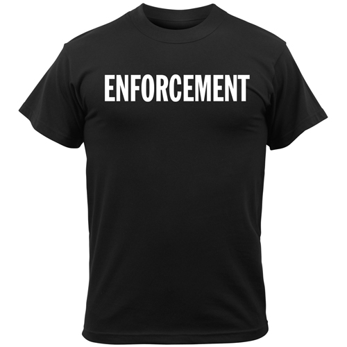 Mens 2-Sided Enforcement T-Shirt