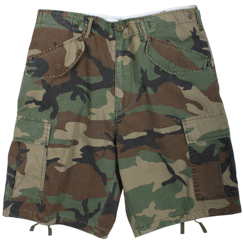 Mens Vintage M-65 Field Shorts