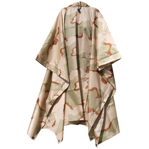 G.I. Type Military Rip-Stop Poncho