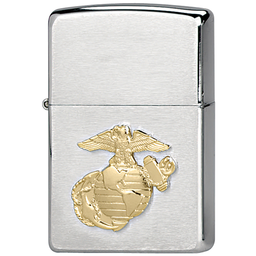 Zippo Military Marines Crest Lighters