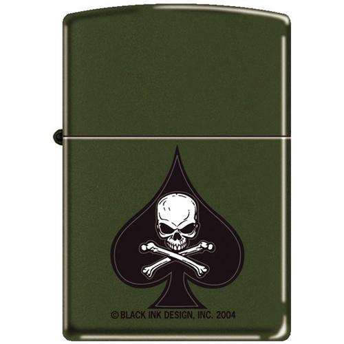 Death Spade Zippo Lighter