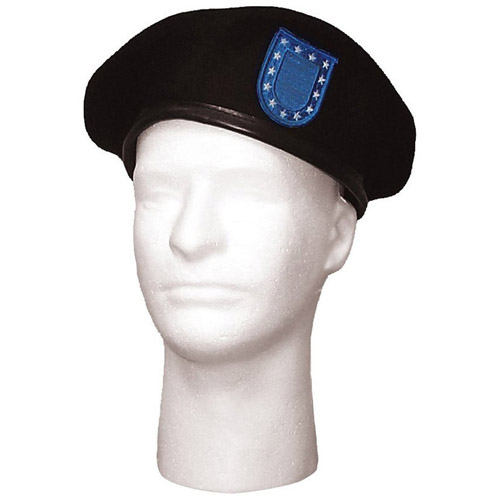 GI Type Blue Flash Beret