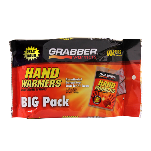 Grabber Hand Warmers- 10 Pack