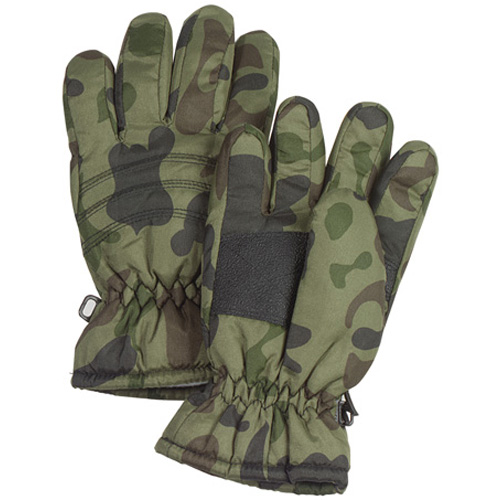 Kids Camo Thermoblock Insulated Gloves