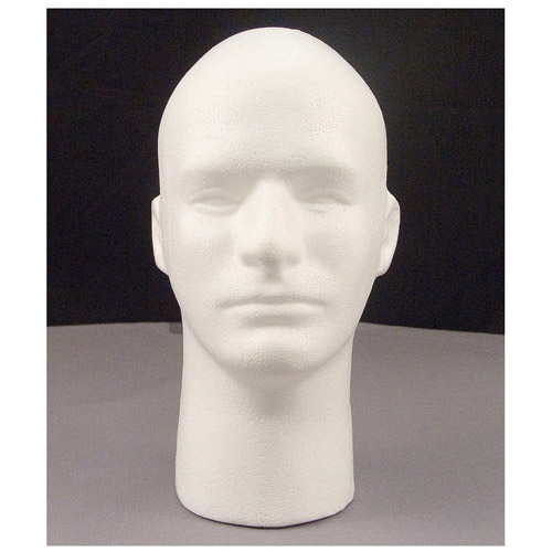 Male Foam Head With Face