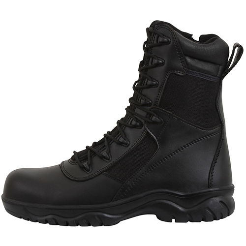 Forced Entry with Side Zipper and Composite Toe Tactical Boot