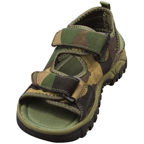 Camo Hiking Sandals