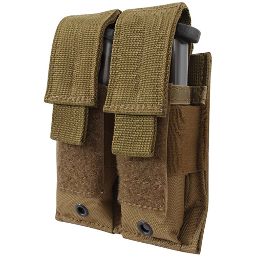 MOLLE Double Pistol Mag Pouch
