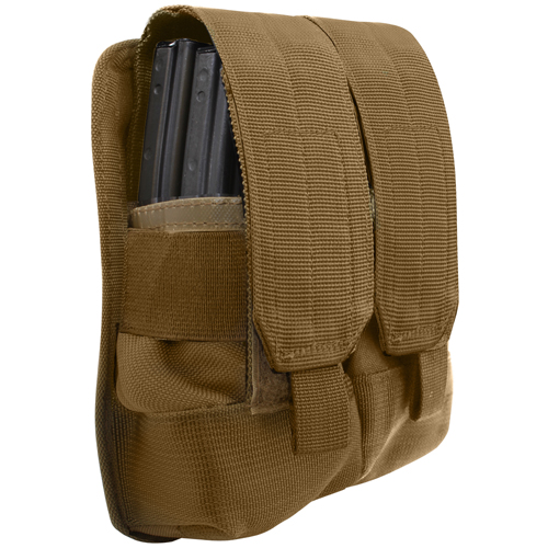 Molle Universal Double Mag Rifle Pouch
