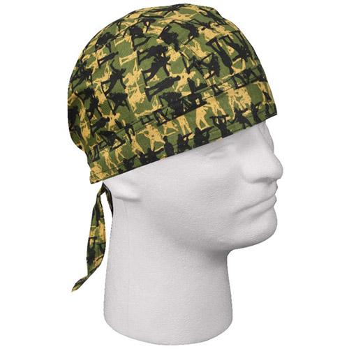 Army Man Camo Headwrap