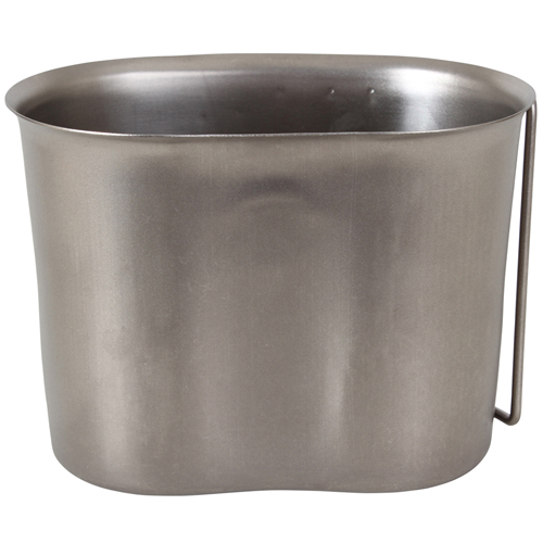 GI Style Stainless Steel Canteen Cup