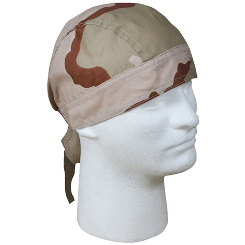 Tri-Color Desert Headwrap