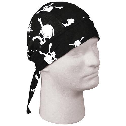 Skull & Crossbones Headwrap