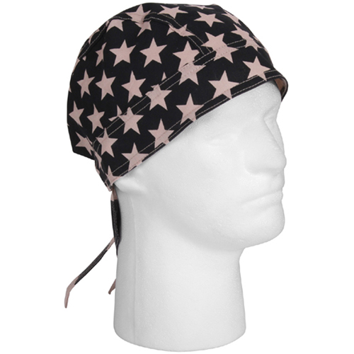 Subdued US Flag Headwrap