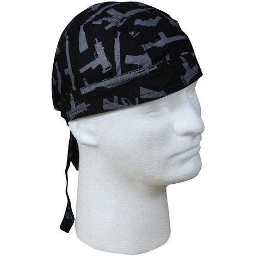 Gun Pattern Headwrap