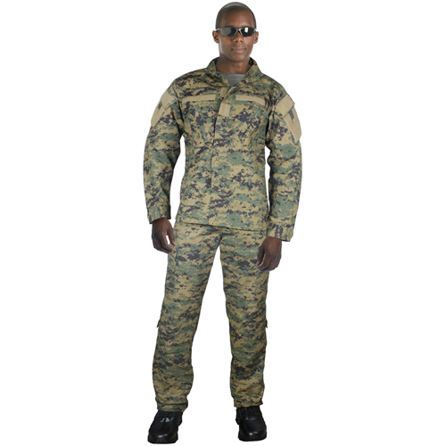 Mens Army Combat Uniform Shirt